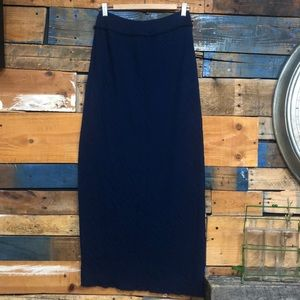 Free people maxi skirt Sz M